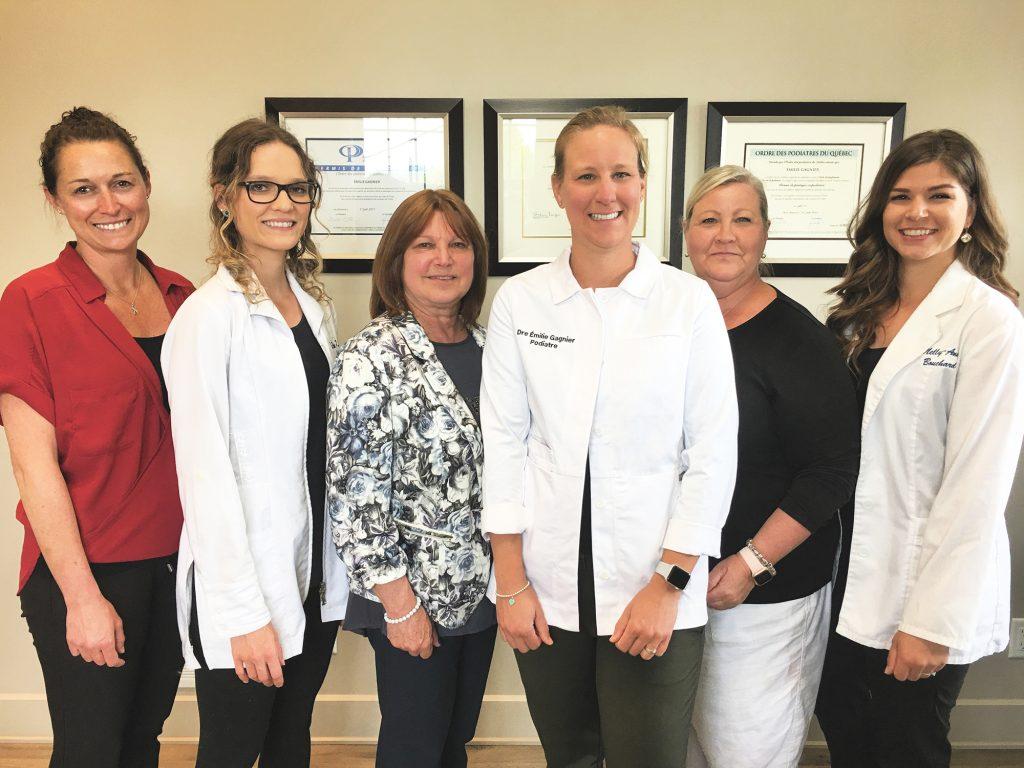 Équipe Clinique podiatrie des Monts